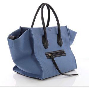 Celine Canvas Phantom Bag